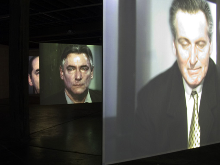 Lyndal Jones, 'Crying Man 4', Installation view, Artspace, Sydney, 2005