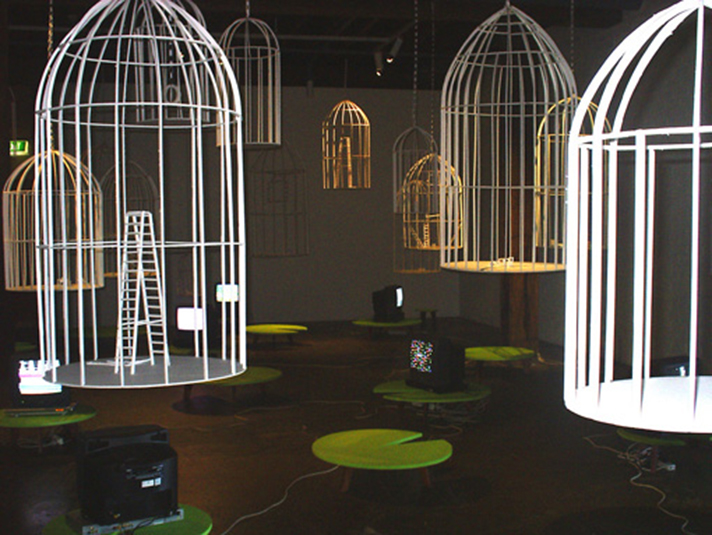 Sadie Chandler, 'Nirvana Office', Installation view, Artspace, Sydney, 2005