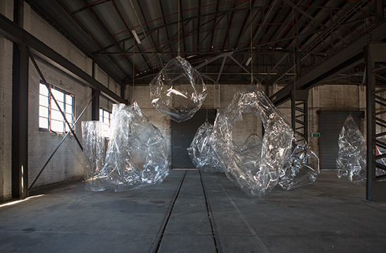 'An Apparition of Reduction', (installation view), 17th Biennale of Sydney, Cockatoo Island, Sydney, 2010