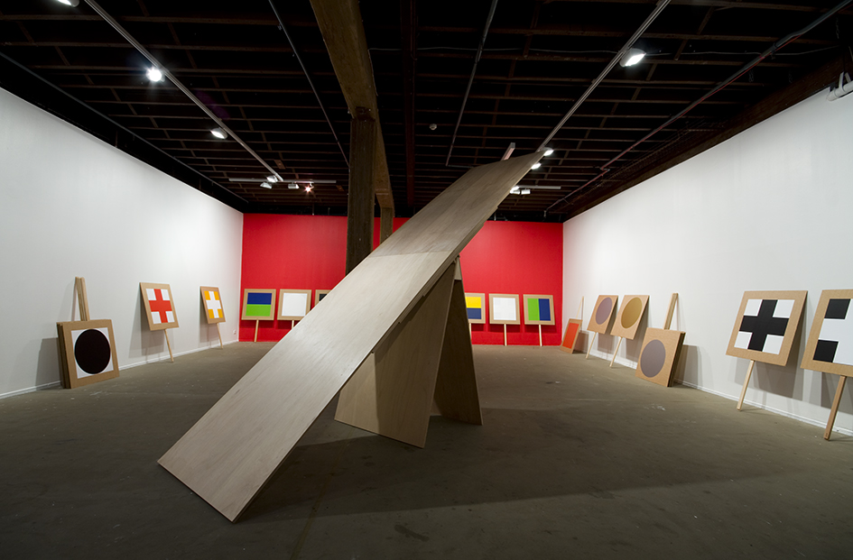 Shane Haseman, 'Sympathy for the Devil', installation view, Artspace, Sydney, 2009