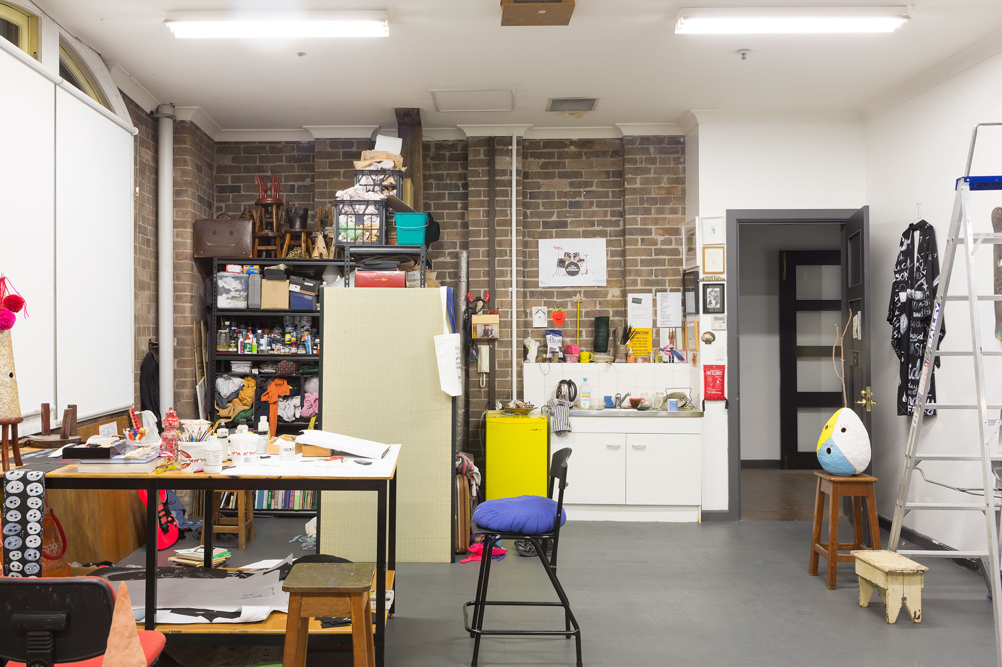 Nell's Artspace studio, 2016. Photo: Jessica Maurer