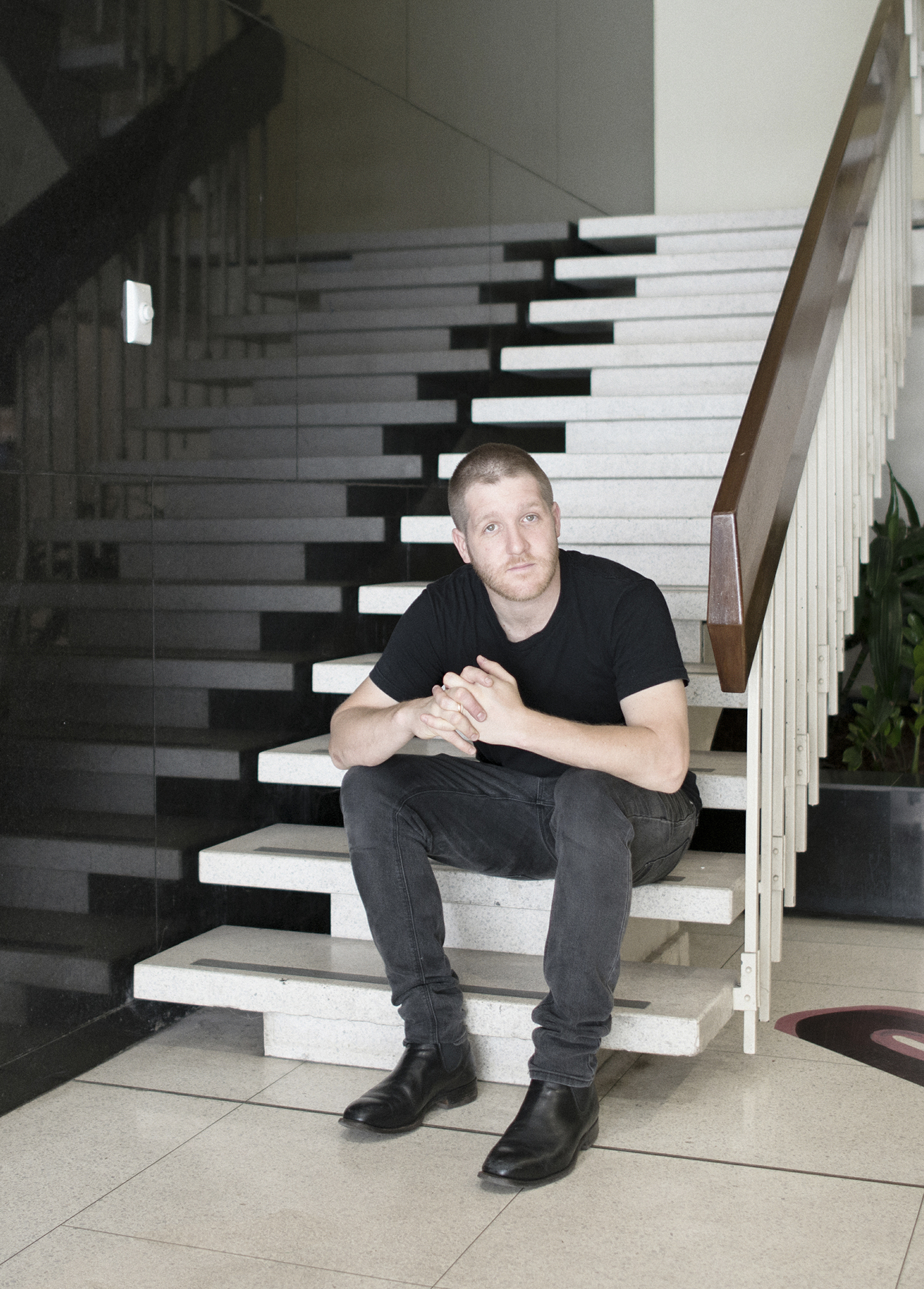 Heath Franco, 2016. Photo: George Voulgaropoulos, commissioned by Parramatta City Council