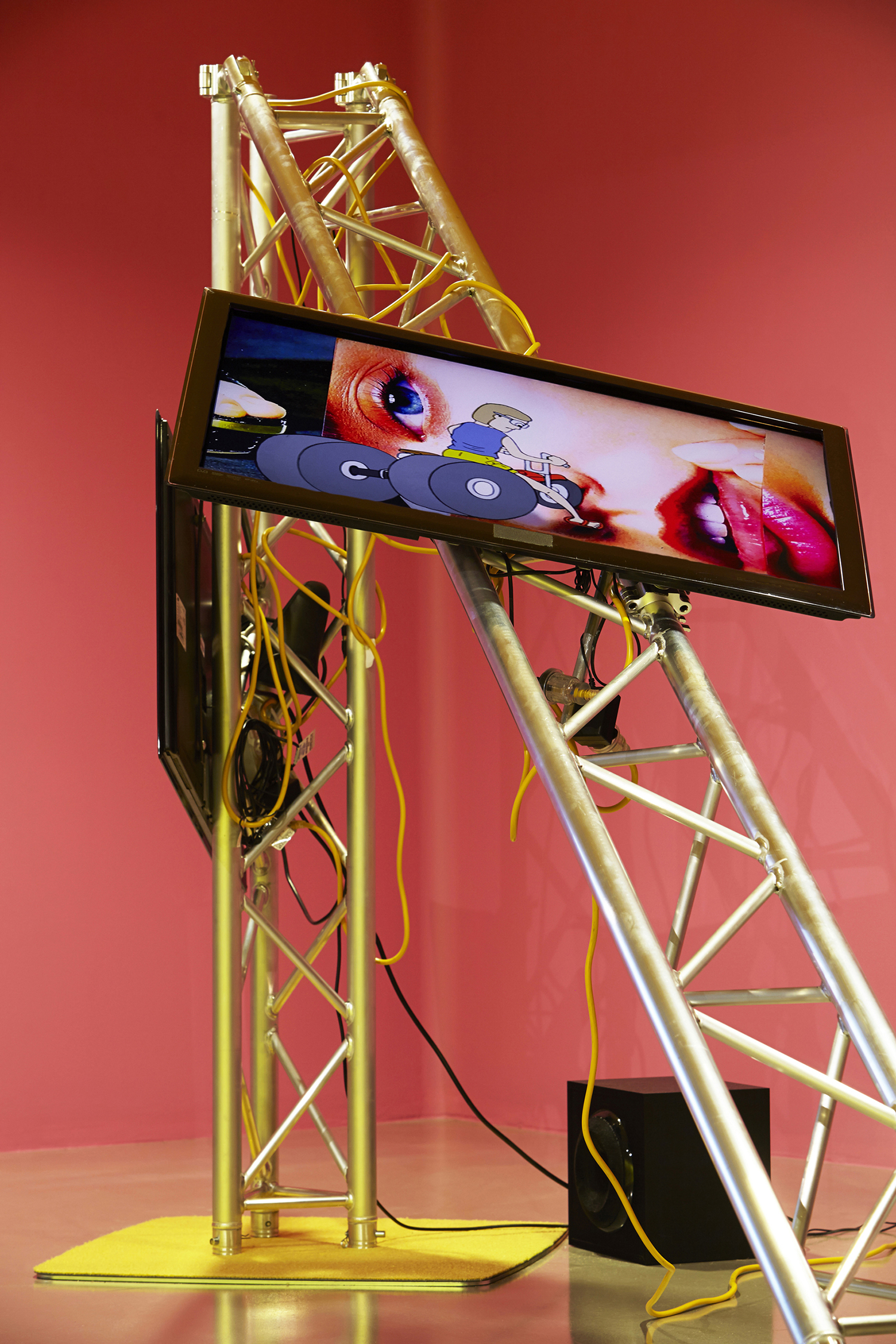 TV Moore, 'Rum Jungle', installation view, Campbeltown Art Centre, 2014, Photo: Zan Wimberley