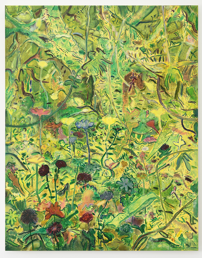 Seth Birchall, 'Farm Garden', 2018, oil on canvas, 153 x 122 cm, courtesy the artist
