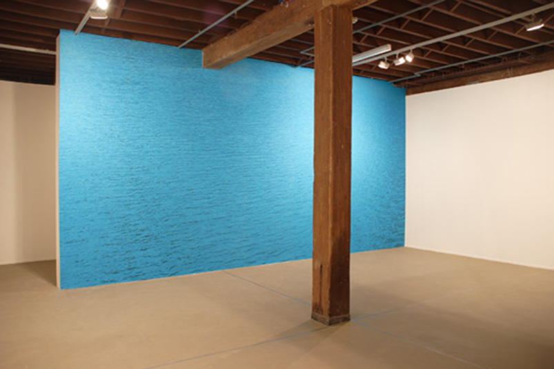 Beijing Commune, 'Only One Wall', installation view, Artspace, Sydney, 2006