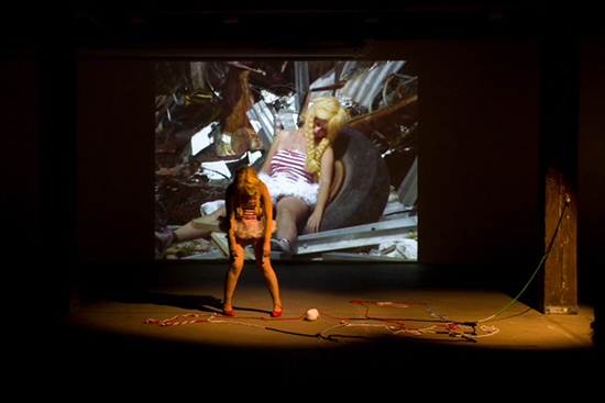 Katthy Cavaliere, 'Loved', 2008, performance still, Artspace, Sydney, 2008