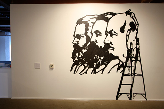 Bruce Barber, 'For Marx', 1983 / 2008, installation view, Artspace, Sydney, 2008.