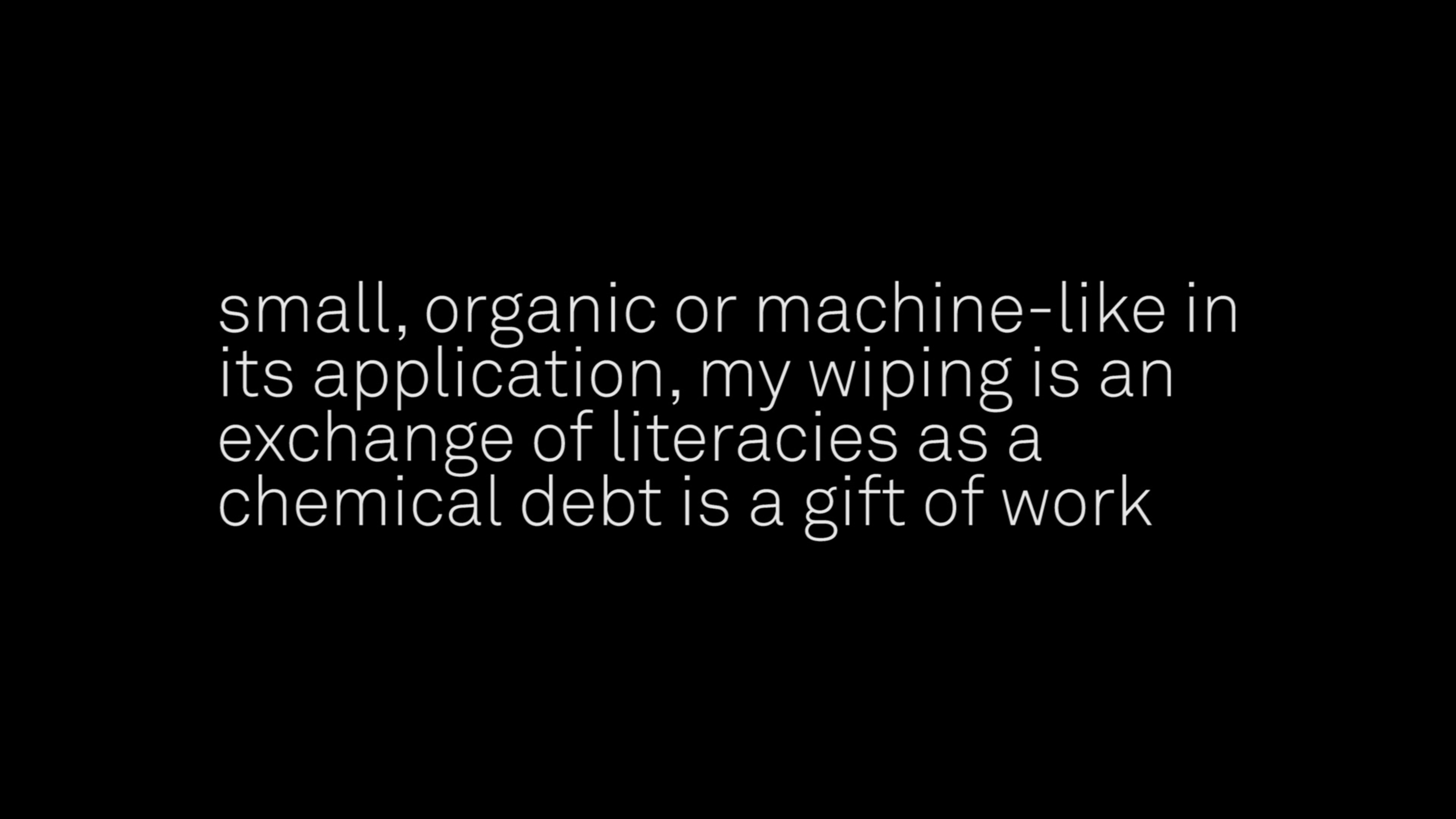 Image: Snack Syndicate, 'Little Pharma', 2016, text, video, object. Courtesy the artists.